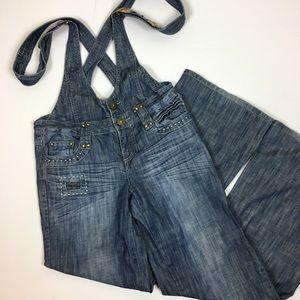 Vero Moda denim overalls. Size S
